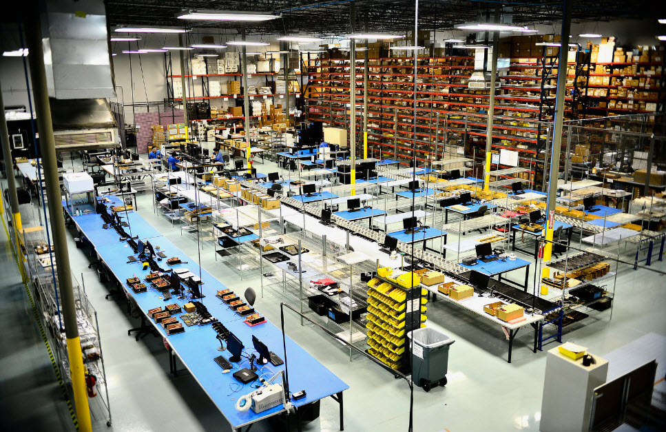 Systel Manufacturing Workspace